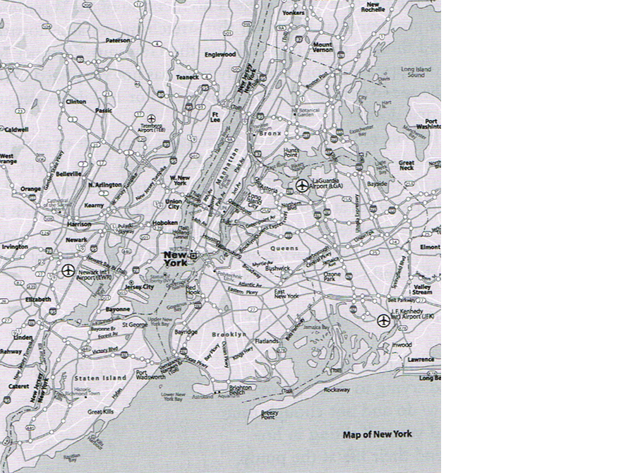 Figure 4.2: A map of New York